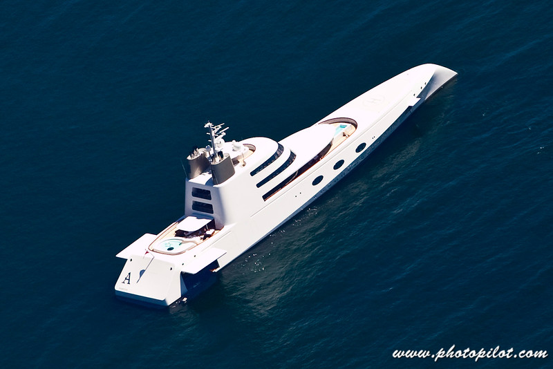 """A"", the 300 million dollar yacht"
