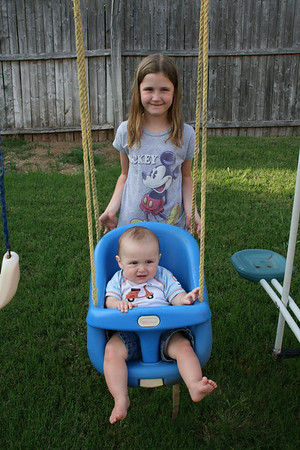 Cody And Courtney Swing - May 2010