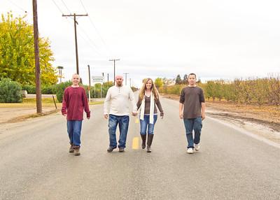 Whiteley Family 2012