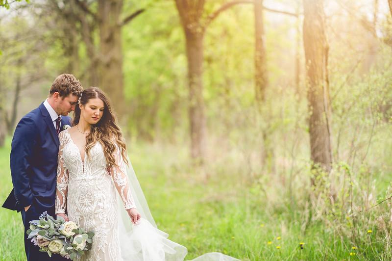 Mr. & Mrs. Donovan l Mesenburg Catering Center Wedding