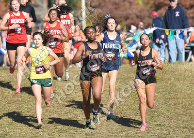2019 Hockomock Girls Cross-Country Championships 10-26-19