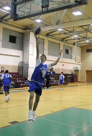 Sacred Heart Basketball 2008-9
