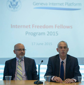 Internet Freedom Fellows at the GIP, June 2015