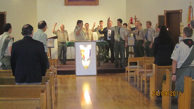 09-24-11 James Talley Eagle Scout Ceremony