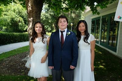Clairbourn School's 8th-Grade Class Graduates