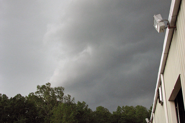 July 13:  A storm approaches .  .  .