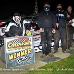 Cornwall Motor Speedway - 10/9/20 - Rick Young