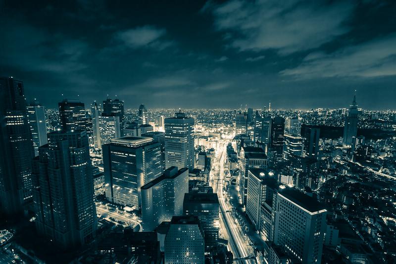 Tokyo Black and White Night