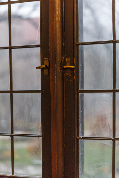 Windows of Harper Memorial Library