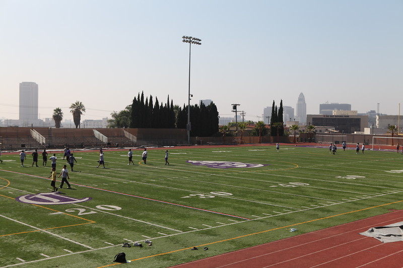 2010, Football Field at Cathedral High