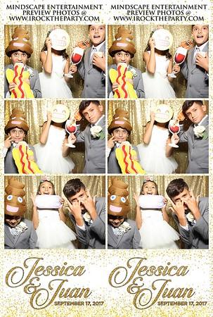 Juan & Jessica's Wedding - Photo Booth Pictures