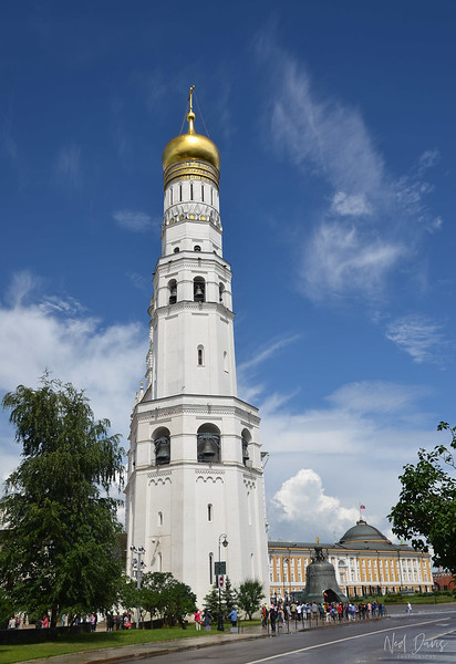 Ivan the Great Bell Tower, Kremlin, Moscow, Russia