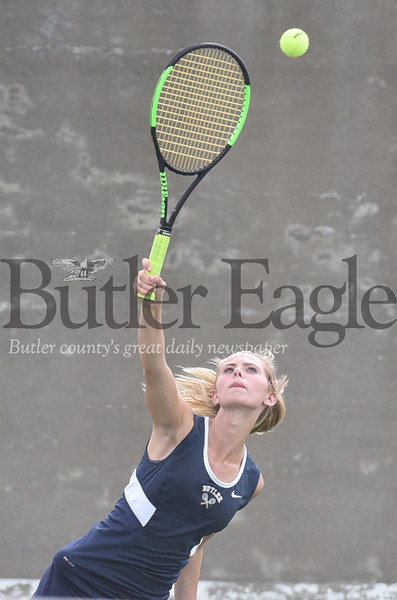23055 Butler vs moon girls tennis at Butler high school