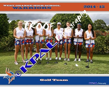Girls Golf Team Photos 2014
