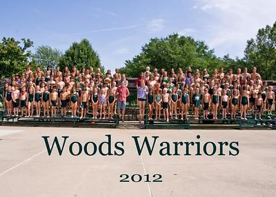 Warriors Team Photos 2012