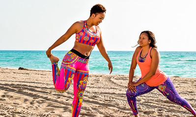 Rhonda & Tavia Fitness Promo