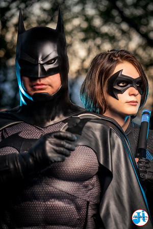@crisis_cosplay & @domcharland Batman & Nightwing Cosplay Photoshoot Hell's Kitchen May 2021