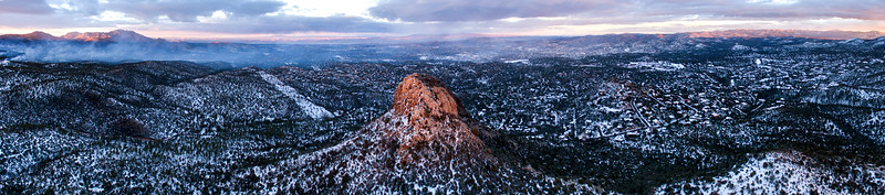Thumb Butte Aerial Pano