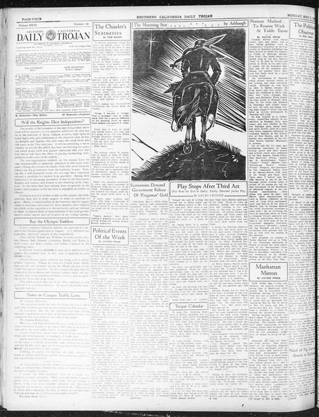 Daily Trojan, Vol. 23, No. 136, May 02, 1932
