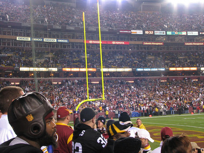 Redskins vs. Steelers - 11/03/2008