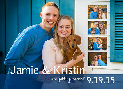Jamie and Kristin Save the Dates