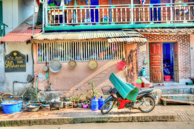 Beautiful sights wandering through Luang Prabang, Laos