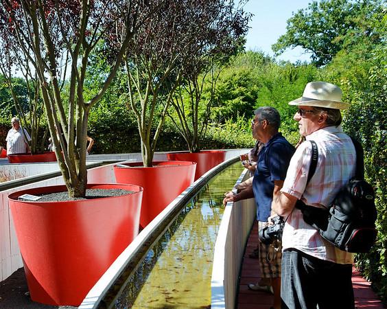 2009 - Jardins de couleur - Festival de Chaumont - Pots de fleurs