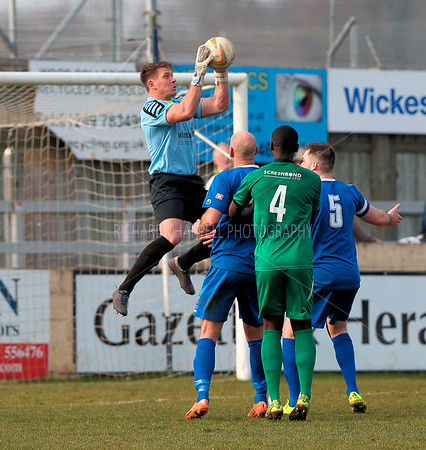 CHIPPENHAM TOWN V HITCHIN TOWN MATCH PICTURES 12th Mar 2016
