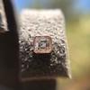 .52ctw Asscher Cut Diamond Bezel Stud Earrings, 18kt Rose Gold 21