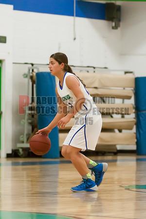 Lake Mary Prep Rams @ CCA Ducks Girls Varsity Basketball - 2015