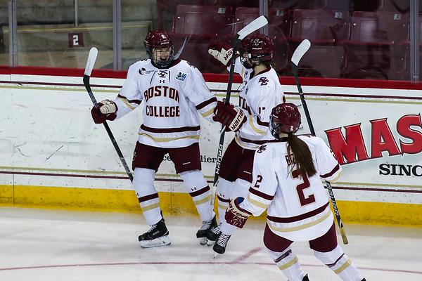 Women's Beanpot Final: Boston University at Boston College