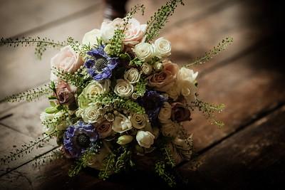 Emilia and Joel's Stylish Wedding at The Hoste Arms