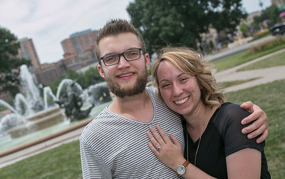 160723 Corbin and Lindsey engagement