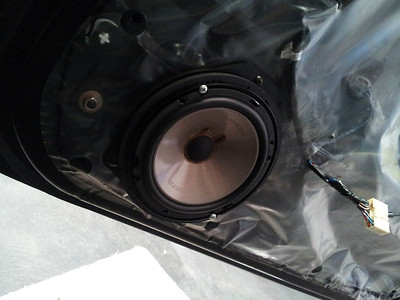 2004 Subaru Liberty Front Speaker Installation