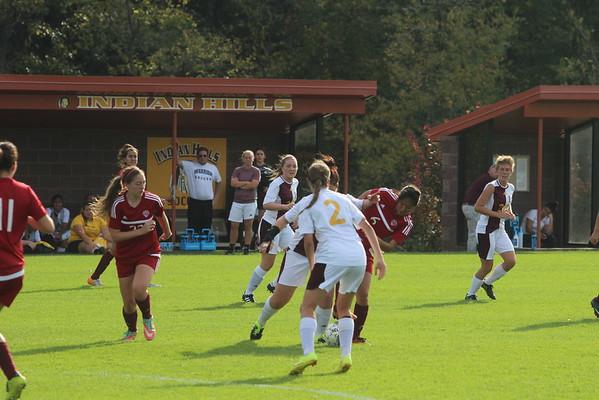 IHHC Girls Soccer Vs. Hesston