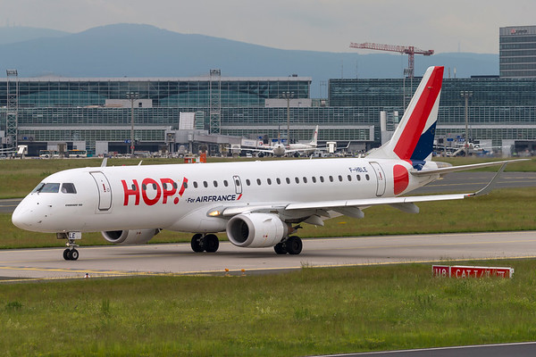 F-HBLE - Embraer 190