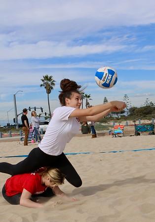 Mater Dei vs EHS Girls Beach VB Mar.9, 2020 (Album 1)