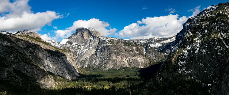 Yosemite Valley Panorama