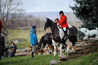 Loudoun Hunt West with Jim Meads 2010