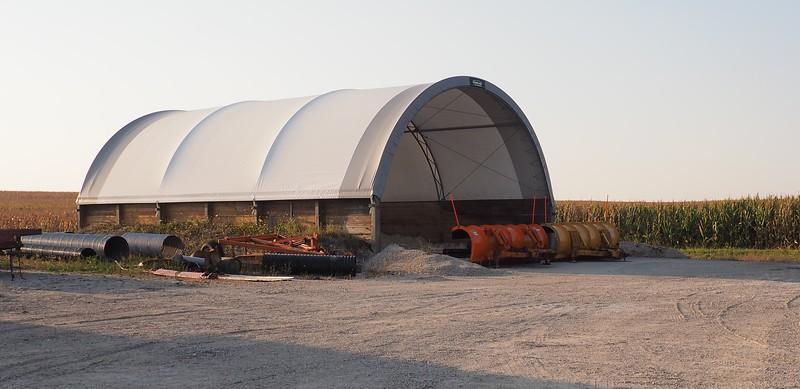 Manlius Township gravel/salt storage