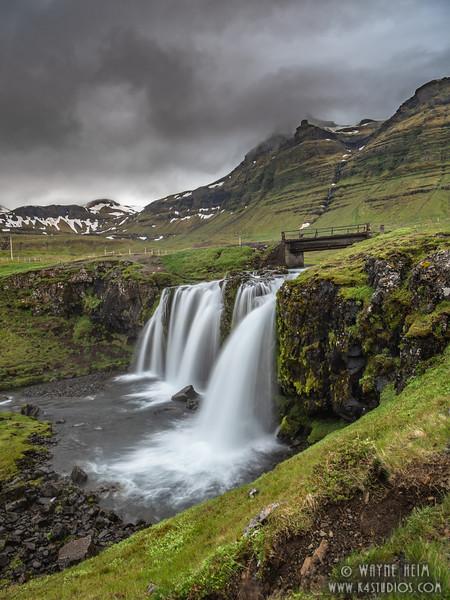 Waterfall Bridge   Photography by Wayne Heim