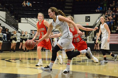 Basketball - LHS Girls 2016-17 - West Plains