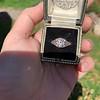 1.11ct Old European Cut Diamond Filigree Ring 48