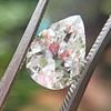 2.01ct Antique Pear Shape Diamond GIA G VS1 36