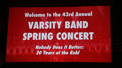Thursday   Varsity Band Concert 4-20-17