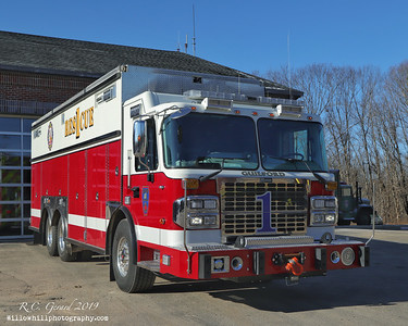 Apparatus shoot-Fire Headquarters, Guilford, CT 12/20/19