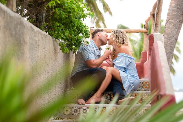 Alyssa & Mark | Martoca Beach Garden
