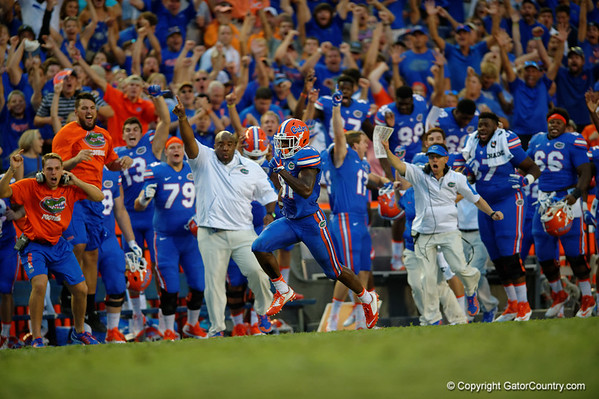 Quick Photo Gallery - Florida Gators vs Tennessee Vols  9-26-2-15