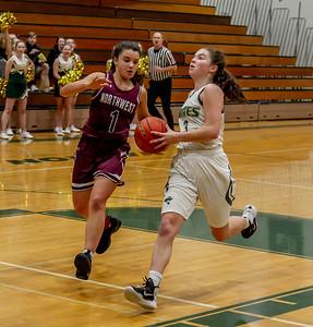 Set four: Girls Varsity Basketball v Northwest 12/05/2018
