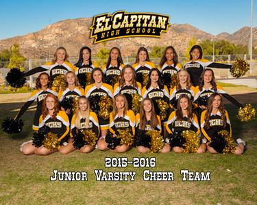 2015-2016 ECHS JV Cheer
